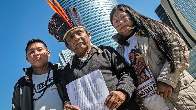 Indígenas del mundo entero desafían a las empresas hidroeléctricas en París (FOTOS)