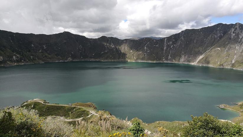 Quilotoa, el coloso que alberga una de las 15 lagunas de origen volcánico más hermosas del mundo (FOTOS)