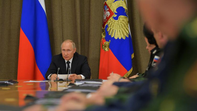 Putin: Rusia ha aumentado 1,5 veces su flota de satélites militares y de doble propósito
