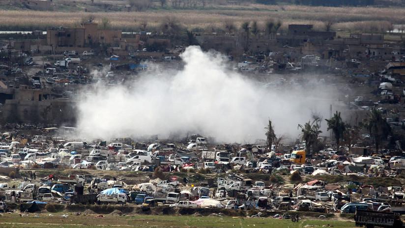Rusia advierte de una posible provocación con armas químicas a manos de terroristas en Siria