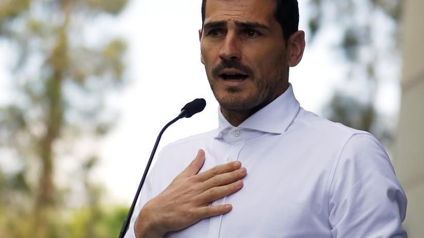 Medios: Iker Casillas cuelga los guantes tras sufrir un infarto
