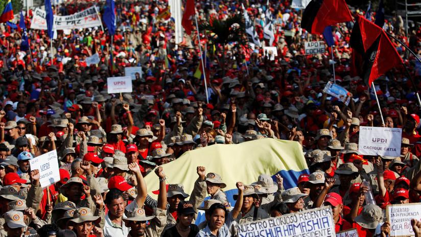 El chavismo marchará para conmemorar un año de la reelección del presidente Maduro