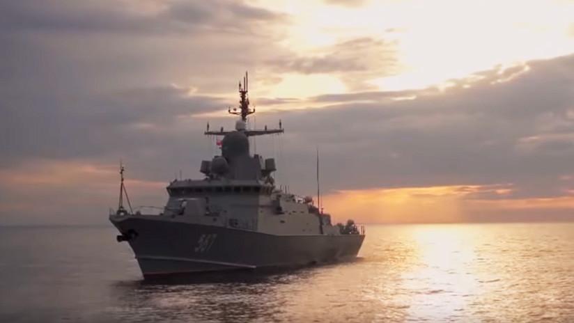VIDEO: Rusia muestra el poderío de su flota del Báltico