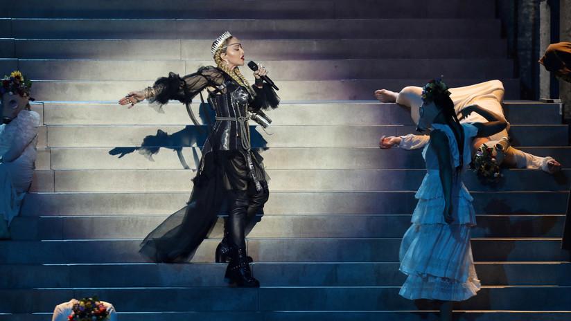 La actuación de Madonna en la final de Eurovisión 'incendia' las redes sociales