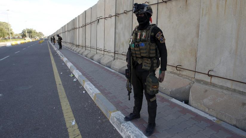 Un cohete cae en una zona fortificada de Bagdad donde se encuentran las embajadas