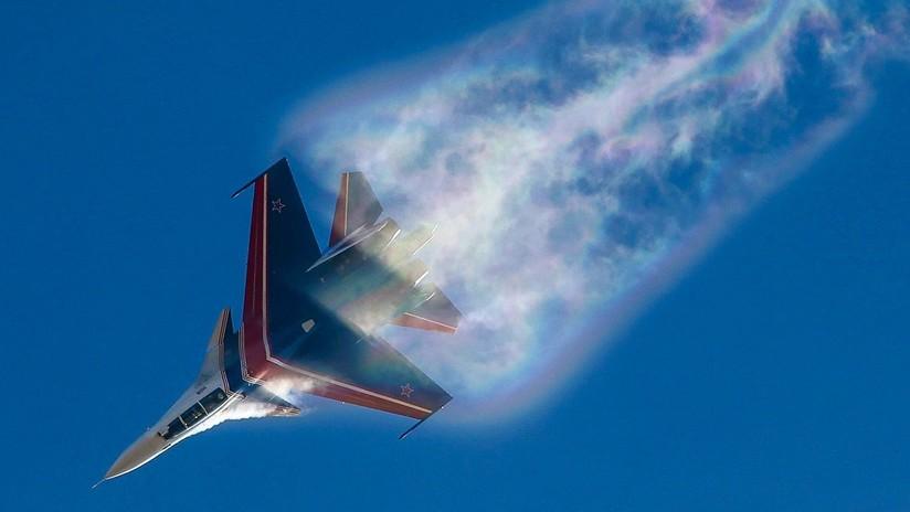 Cielos sin fronteras: El caza ruso Su-30SM protagoniza un clip vertiginoso que conquista la Red (VIDEO)