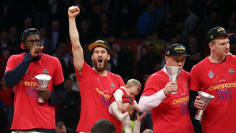 El CSKA vence al Anadolu Efes y gana la Euroliga por octava vez en su historia