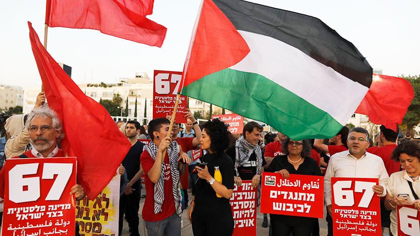 Israel espera que Eurovisión castigue a Islandia por exhibir banderas palestinas