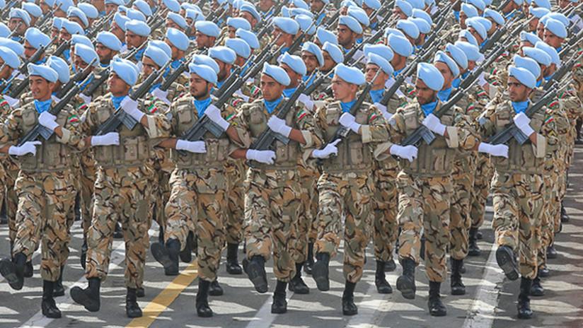 """El Ejército de Irán declara que dará una """"respuesta aplastante"""" a cualquier agresión de sus enemigos"""