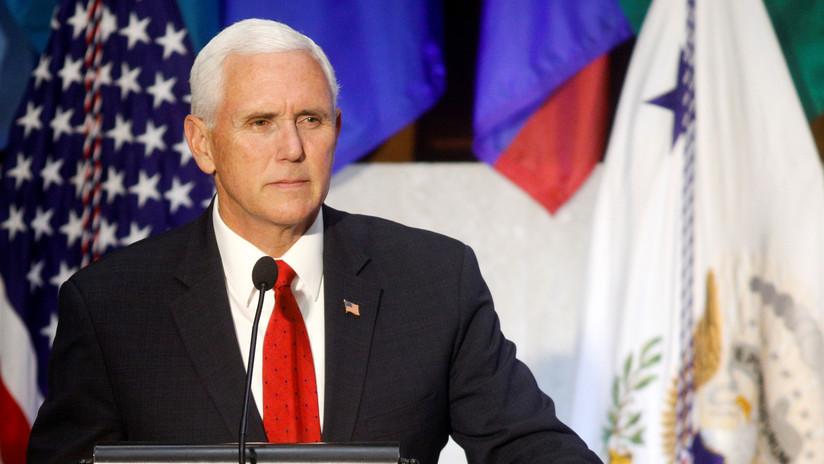 """Pence: """"Continuamos ejerciendo presión económica y diplomática sobre Venezuela y Cuba"""""""