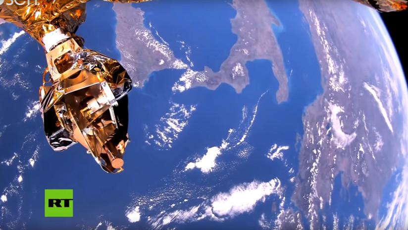 Transmiten imágenes de la Tierra con la más alta calidad jamás lograda por un satélite