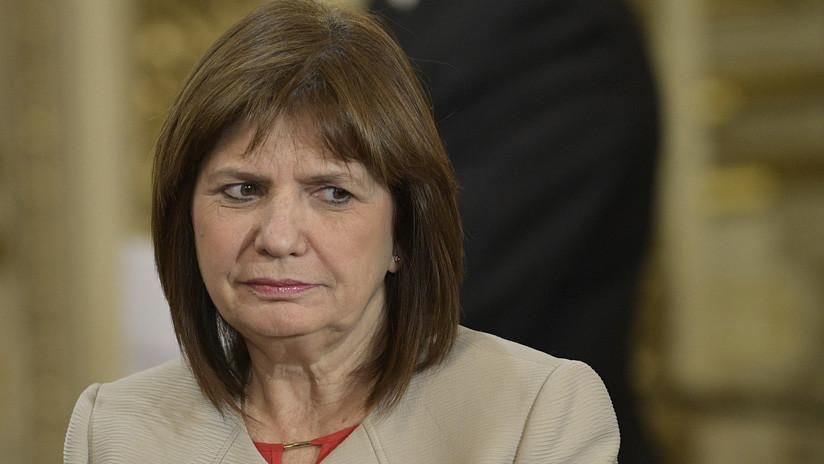 Confirmado: la ministra de Seguridad argentina se comunicaba con el extorsionador D'Alessio