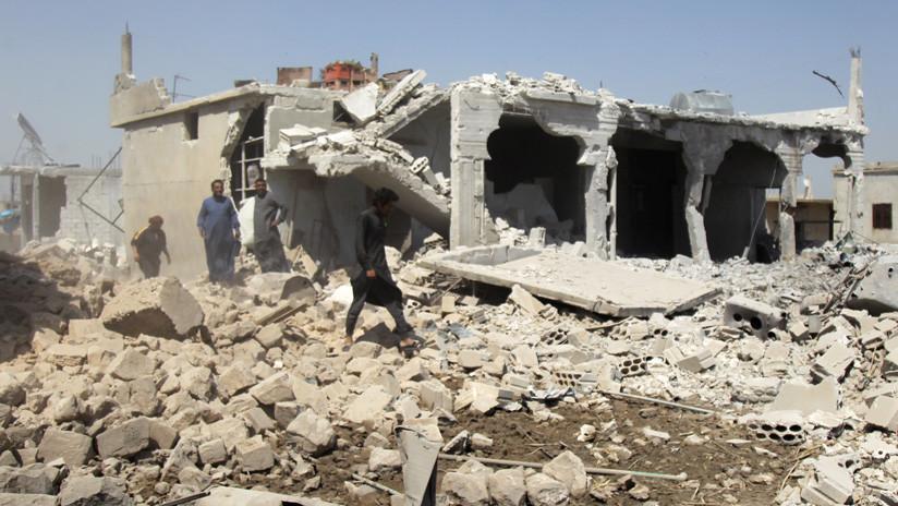 Rusia denuncia preparativos terroristas para escenificar ataques químicos en Siria