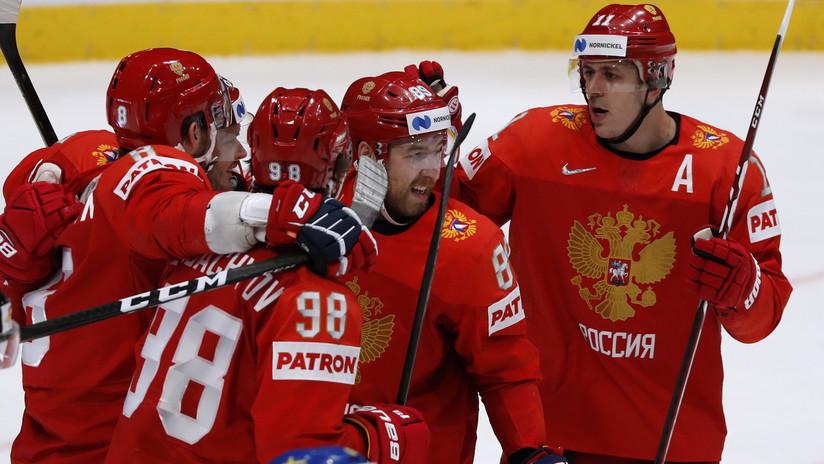 Rusia vence a Suecia y enfrentará a EE.UU. en los cuartos del Mundial de Hockey