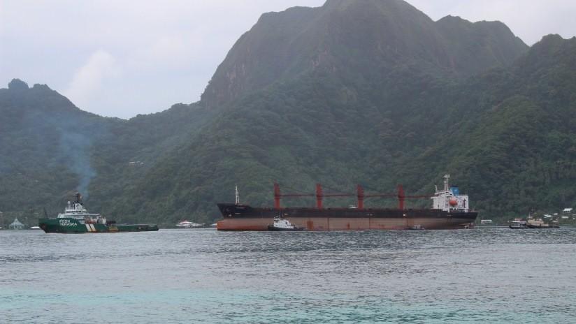 """""""Acto indignante"""": Corea del Norte exige que EE.UU. le devuelva un barco de carga incautado"""