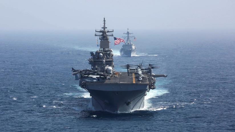 """Moscú: """"EE.UU. está escalando la situación en el golfo Pérsico, con la esperanza de que alguien pierda el control"""""""