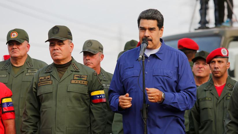 """Maduro a los militares venezolanos: """"Si surge un traidor, hay que capturarlo inmediatamente"""""""