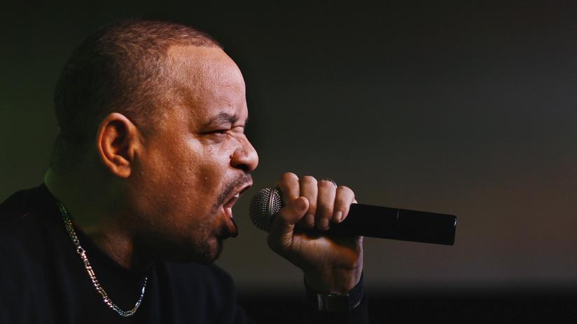 Un empleado de Amazon llega a la casa del rapero 'Ice-T' para entregarle un pedido y este está a punto de dispararle