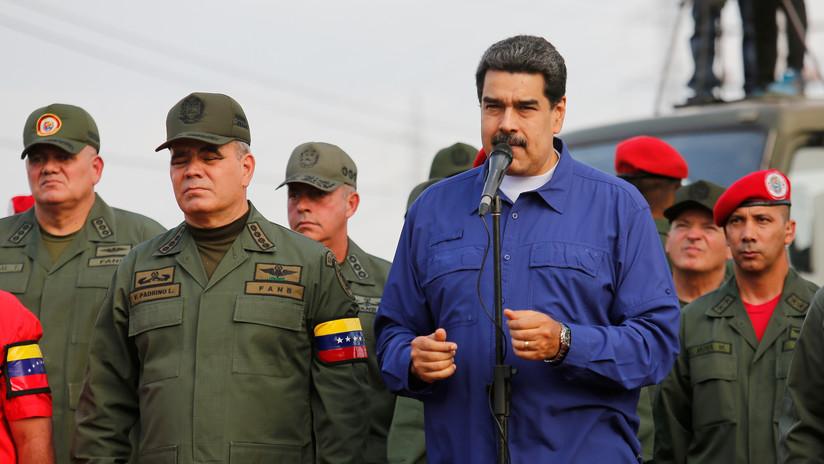"""Maduro ordena a las Fuerzas Armadas estar alertas ante cualquier """"aventura"""" de EE.UU."""