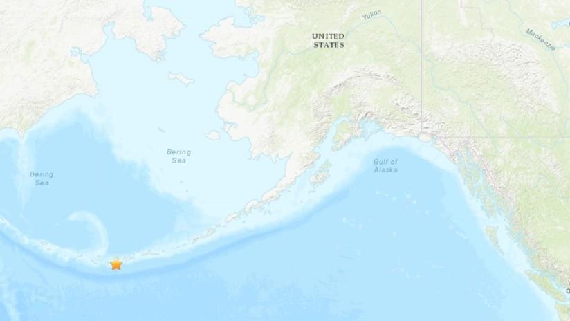 Se registra un terremoto de magnitud 6,1 cerca de las costas de Alaska