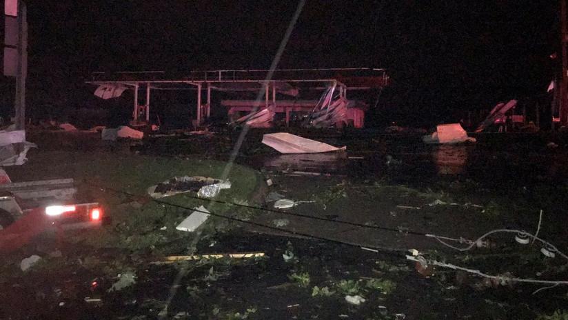 Impactantes imágenes del poderoso tornado que golpeó la capital de Missouri