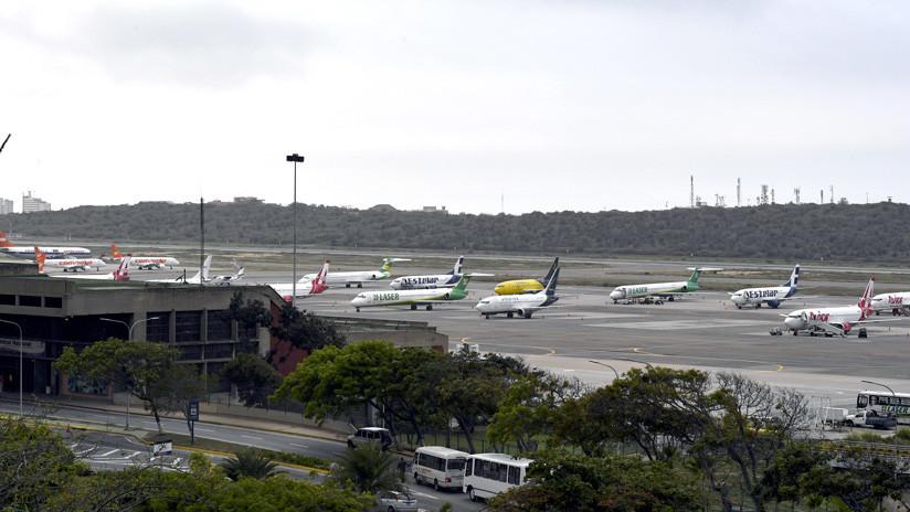 Reportan que EE.UU. exigió a grandes comerciantes detener el flujo de combustible de aviones a Venezuela