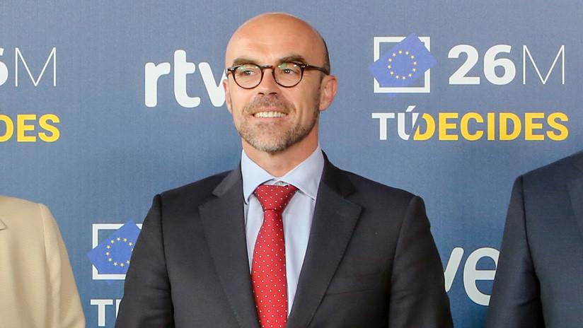 37407917e7 El candidato de Vox a las Europeas carga contra las