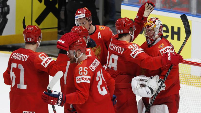 Rusia vence a EE.UU. y avanza a la semifinal del Mundial de Hockey