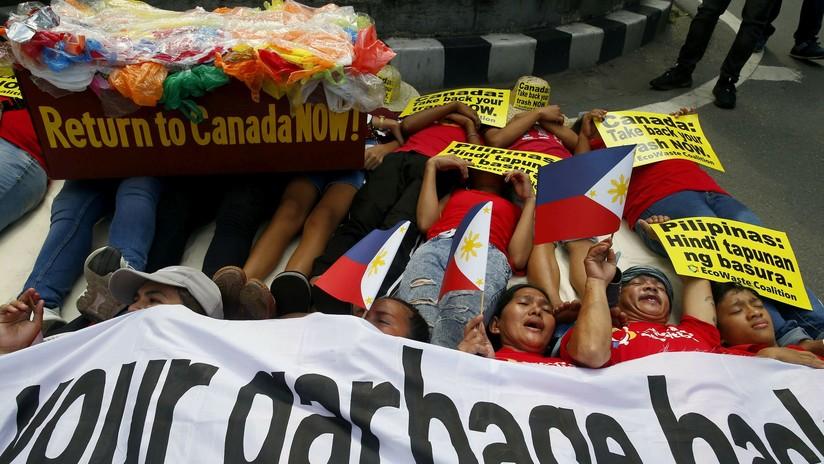 Filipinas pierde la paciencia con Canadá y rechaza su nuevo plazo de recogida de basura