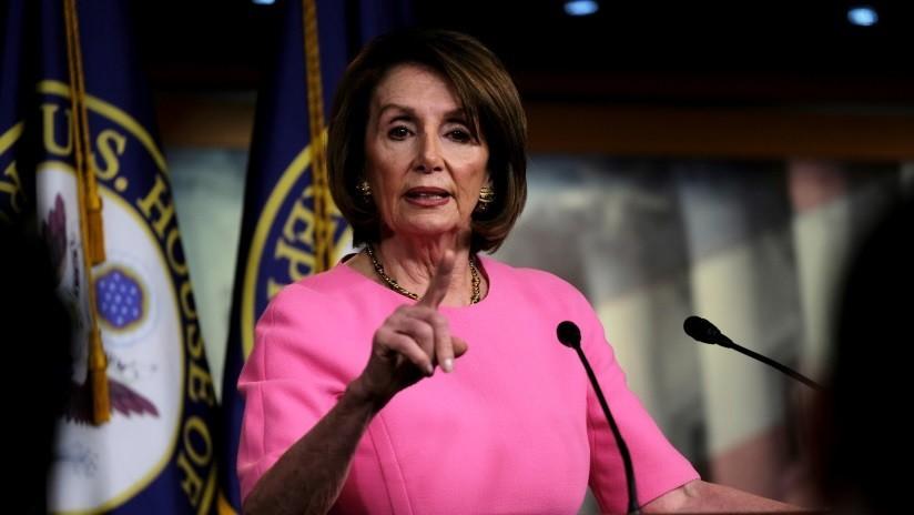 """Nancy Pelosi afirma que la Casa Blanca """"está pidiendo a gritos un 'impeachment'"""" de Trump"""