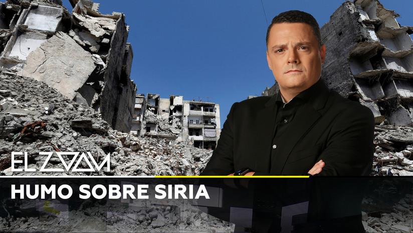 Humo sobre Siria