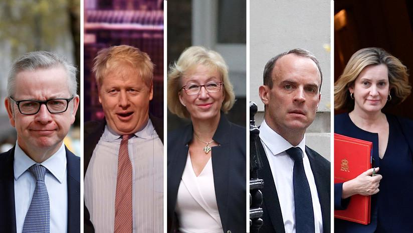 ¿Quién ocupará el sitio de Theresa May? Estos son los posibles candidatos