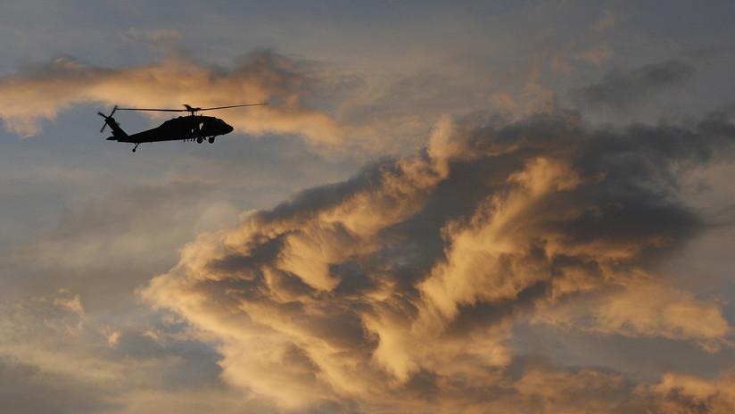 Un helicóptero de la Marina de México se desploma en Querétaro