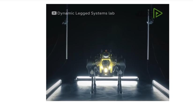Cada vez más fuertes: este robot de cuatro patas puede remolcar un avión de tres toneladas (VIDEO)