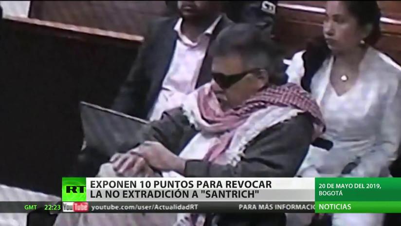 La Fiscalía colombiana expone razones para revocar la no extradición al exlíder de las FARC Santrich