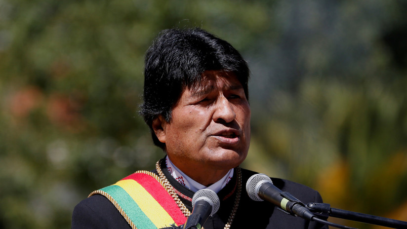 Evo Morales critica que la oposición boliviana acuda a Colombia para intentar frenar su candidatura