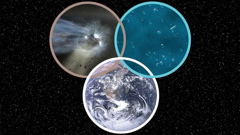 """Nuevas pistas: la NASA halla en un cometa agua """"similar a la de un océano"""""""