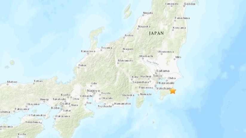 Un sismo de magnitud 5,1 se registra cerca de Tokio