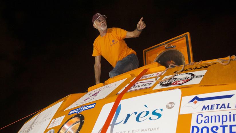 Jubilado francés de 72 años que cruzó el Atlántico en un barril revela cómo mantenerse en buen estado físico