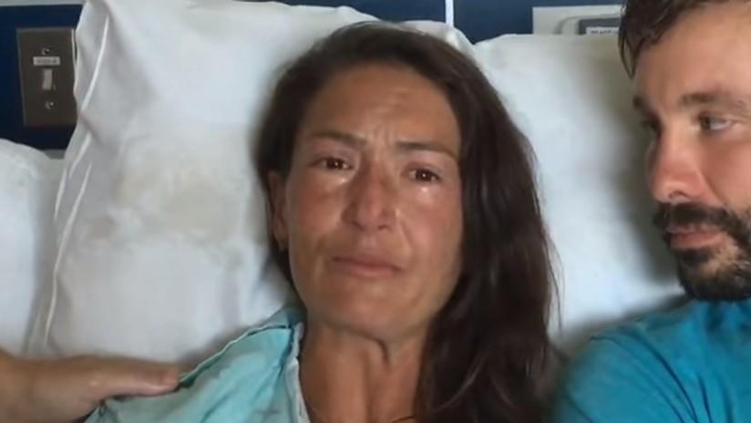 """""""Es increíble"""": Habla la instructora de yoga rescatada después de haber pasado dos semanas en un bosque"""