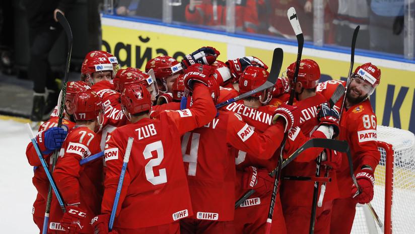 La selección rusa gana la medalla de bronce en el Mundial del Hockey tras vencer a la República Checa