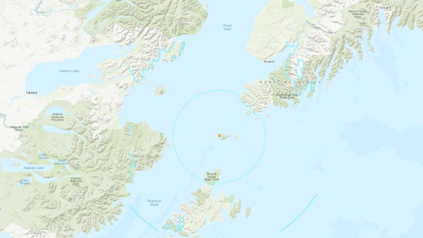 EE.UU.: Se registra en Alaska un sismo de magnitud 5,7