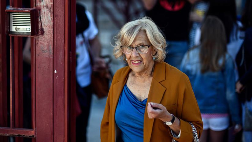 """Gracias, Manuela"": la emotiva despedida en Twitter a la alcaldesa de Madrid"