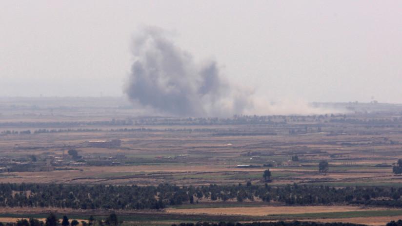 Reportan el impacto de un misil israelí en la provincia de Quneitra