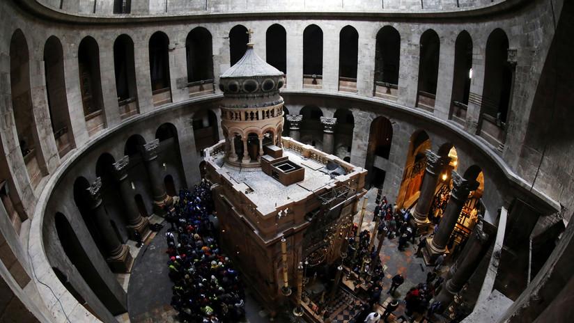 Acuerdan un plan para restaurar la Iglesia del Santo Sepulcro en Jerusalén