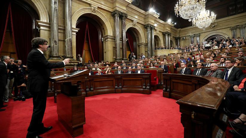 La Justicia europea avala la decisión de España de suspender el pleno del Parlamento catalán tras el referéndum