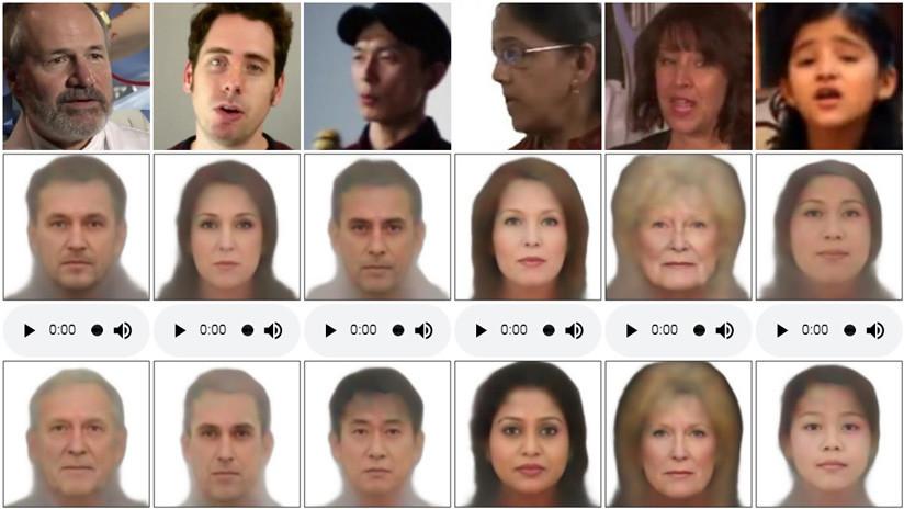 Logran reproducir el rostro de una persona a partir del sonido de su voz