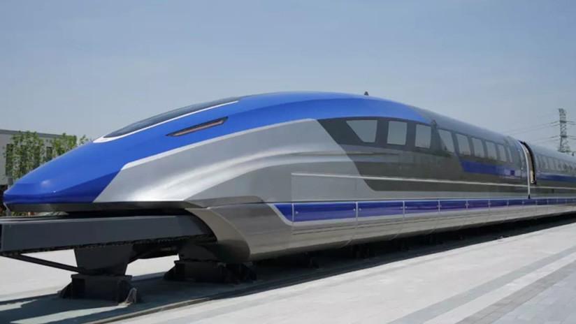 China muestra el prototipo de un tren de levitación magnética 'más rápido' que un avión (FOTOS, VIDEO)