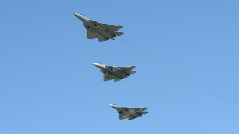 VIDEO: Así se ensambla el primer caza furtivo ruso Su-57 que se produce en serie
