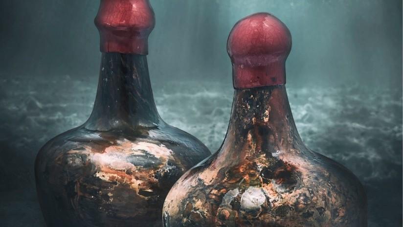 Christie's subastará un raro vino del siglo XVII descubierto en un barco hundido frente a las costas de Alemania